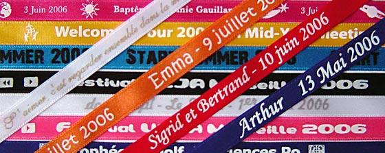 bracelet brésilien personnalisé
